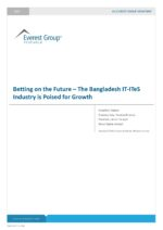 Betting on the Future – The Bangladesh IT-ITeS Industry is Poised for Growth