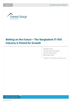 Betting on the Future - The Bangladesh IT-ITeS Industry is Poised for Growth