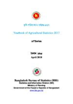 Bangladesh Agricultural Statistics Yearbook