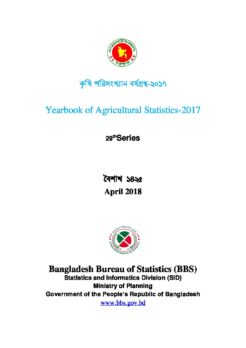 Bangladesh Agricultural Statistics Yearbook