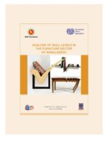 Analysis of Skill Levels in the Furniture Sector of Bangladesh