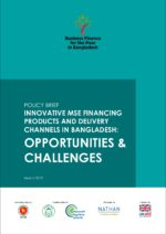Innovative MSE Financing Products and Delivery Channels in Bangladesh