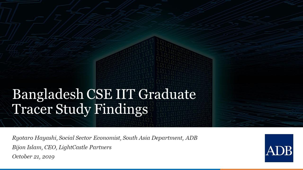 Presentation Bangladesh Cse Iit Graduate Tracer Study Databd Co