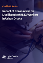 Impact of Coronavirus on Livelihoods: RMG Workers in Urban Dhaka