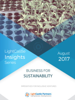Business for Sustainability: Imperatives for Inclusive Ventures